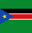flag in colors of south sudan image vector image vector image