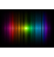 vertical lines abstract rainbow dark vector image vector image