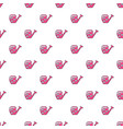 watering can pattern seamless vector image vector image