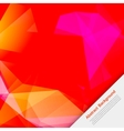 abstract background Polygon pink and card vector image vector image
