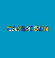 capricorn concept word art vector image