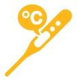 Celsius Temperature Icon vector image