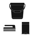 design of cleaning and service symbol vector image vector image