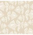 fish pattern monochrome vector image vector image