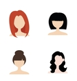 Hairstyle vector image
