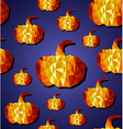 Halloween seamless pattern background EPS10 file vector image vector image