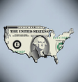 One American Dollar vector image vector image