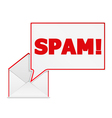 Spam in the Envelope vector image vector image