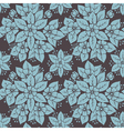 Stylized floral pattern vector image vector image