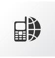 telephone icon symbol premium quality isolated vector image vector image