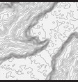 topographic map background concept with space for vector image vector image