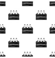 Box with beer icon in black style isolated on vector image