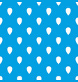 apricot seed pattern seamless blue vector image vector image