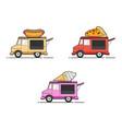 food car vector image