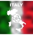 Italian Abstract Map vector image vector image