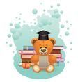 School Teddy Bear2 vector image