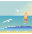 Summer surf vector image
