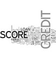 beacon credit score lenders background check text vector image vector image