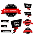 Black Friday Sale elements vector image vector image