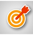 Business target icon vector image vector image