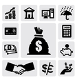Finance Icons vector image vector image
