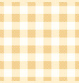 Gingham checkered seamless pattern