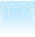 magic stars sparse christmas background subtle fl vector image