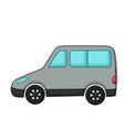 minivan icon cartoon style vector image vector image