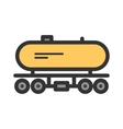 Tank Wagon vector image