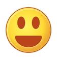 emoji on White Background isolated object of vector image