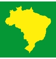Brazil map Background for your presentations vector image