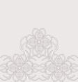 decorative lace vector image