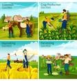 farming 2x2 design concept vector image