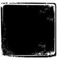 grungy broken page frame vintage retro theme art vector image vector image