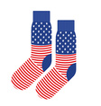 USA Patriot socks Clothing accessory is an vector image