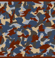 war universal urban camouflage seamless pattern vector image vector image