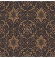 Elegant Damask Floral Pattern vector image