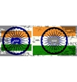 abstract flag of India vector image vector image