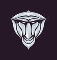 Baboon logo vector image vector image
