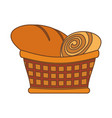 Bakery goods basked