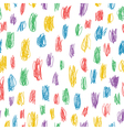childish colorful doodles pattern vector image vector image