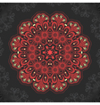 damask arabesque ornamental motif vector image