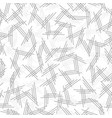 geometric seamless pattern with endless lines vector image vector image