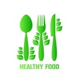 Healthy food vector image vector image