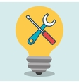 idea tools icon vector image
