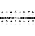 money - flat icons vector image