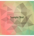 Polygon design stylized abstract background vector image