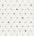 seamless geometric background with triangles vector image