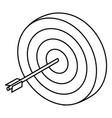 Target dartboard symbol 3d