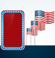 4th of july design vector image